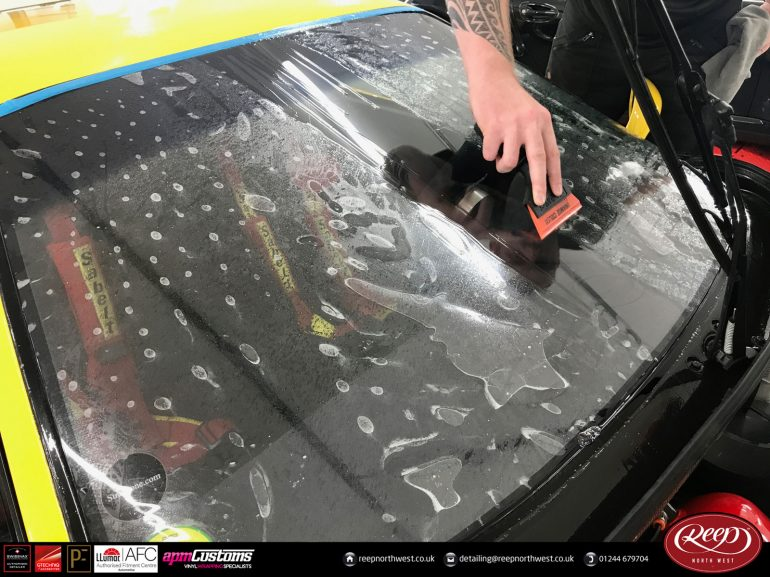 Clearplex windscreen protection