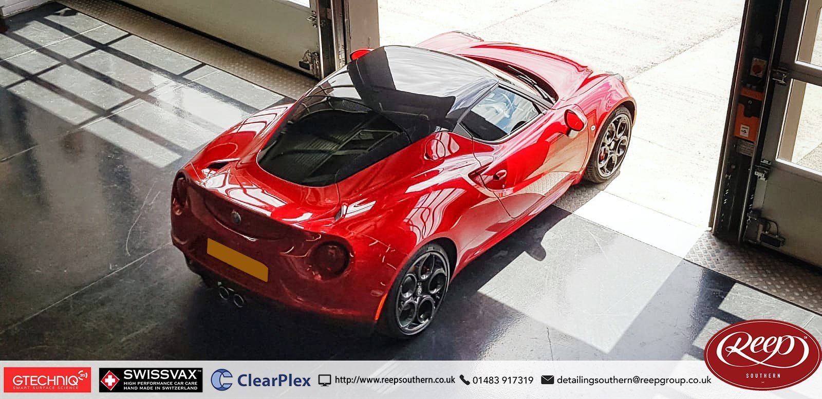 Alfa Romeo 4c Front End Ppf Reep Southern