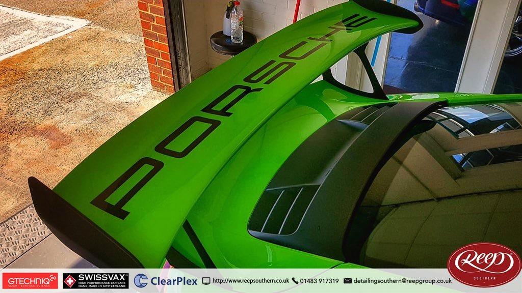Porsche GT3RS Custom Decals - Reep Southern