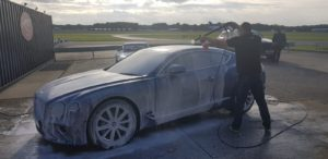 Bentley Continental GT Snow Foam