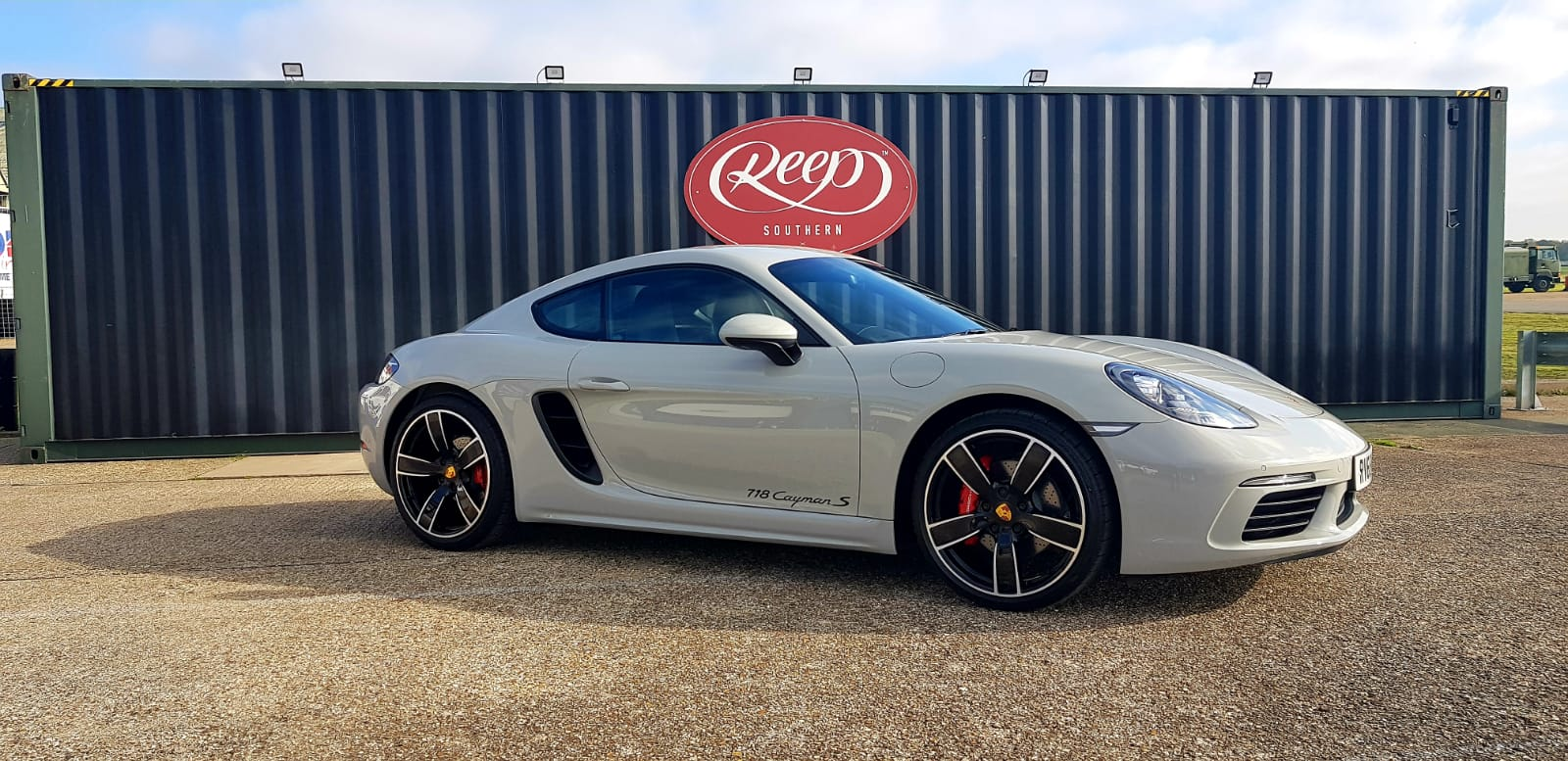 Porsche Cayman 718S Ceramic Coating
