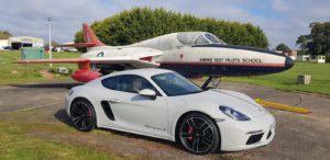Porsche Cayman 718S GTechniq Serum EXO