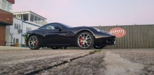Ferrari California Machine Polish