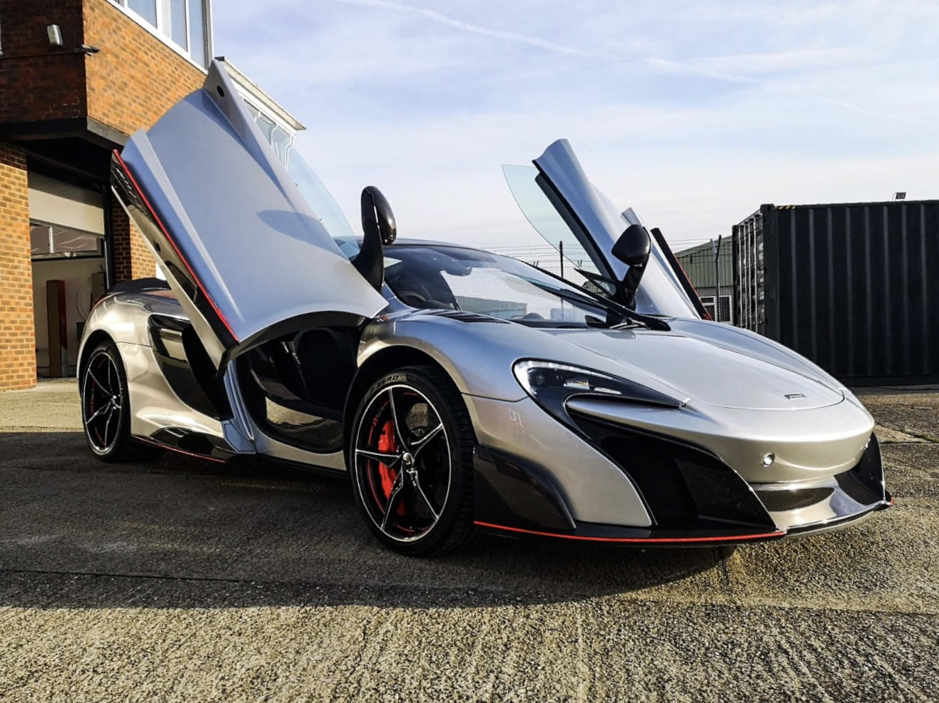 McLaren 675LT Paint Protection