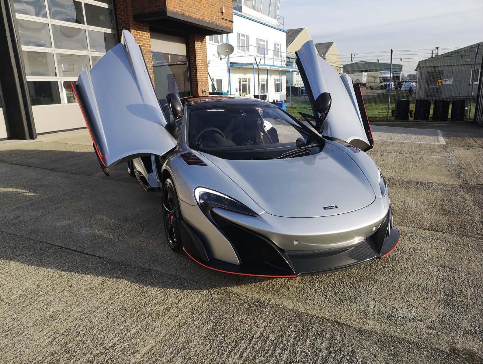 McLaren 675LT PPF Installation