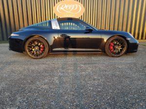 Porsche with Gtechniq Halo