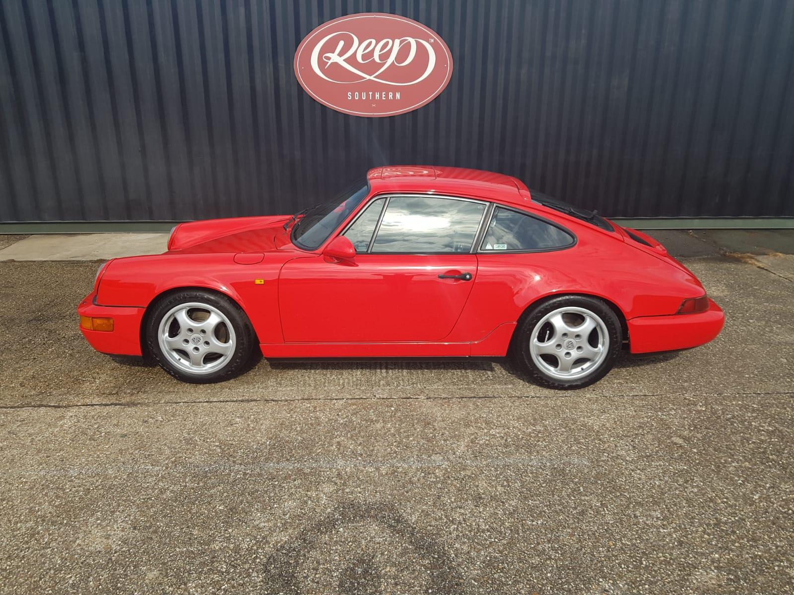 Porsche 964 Detailing