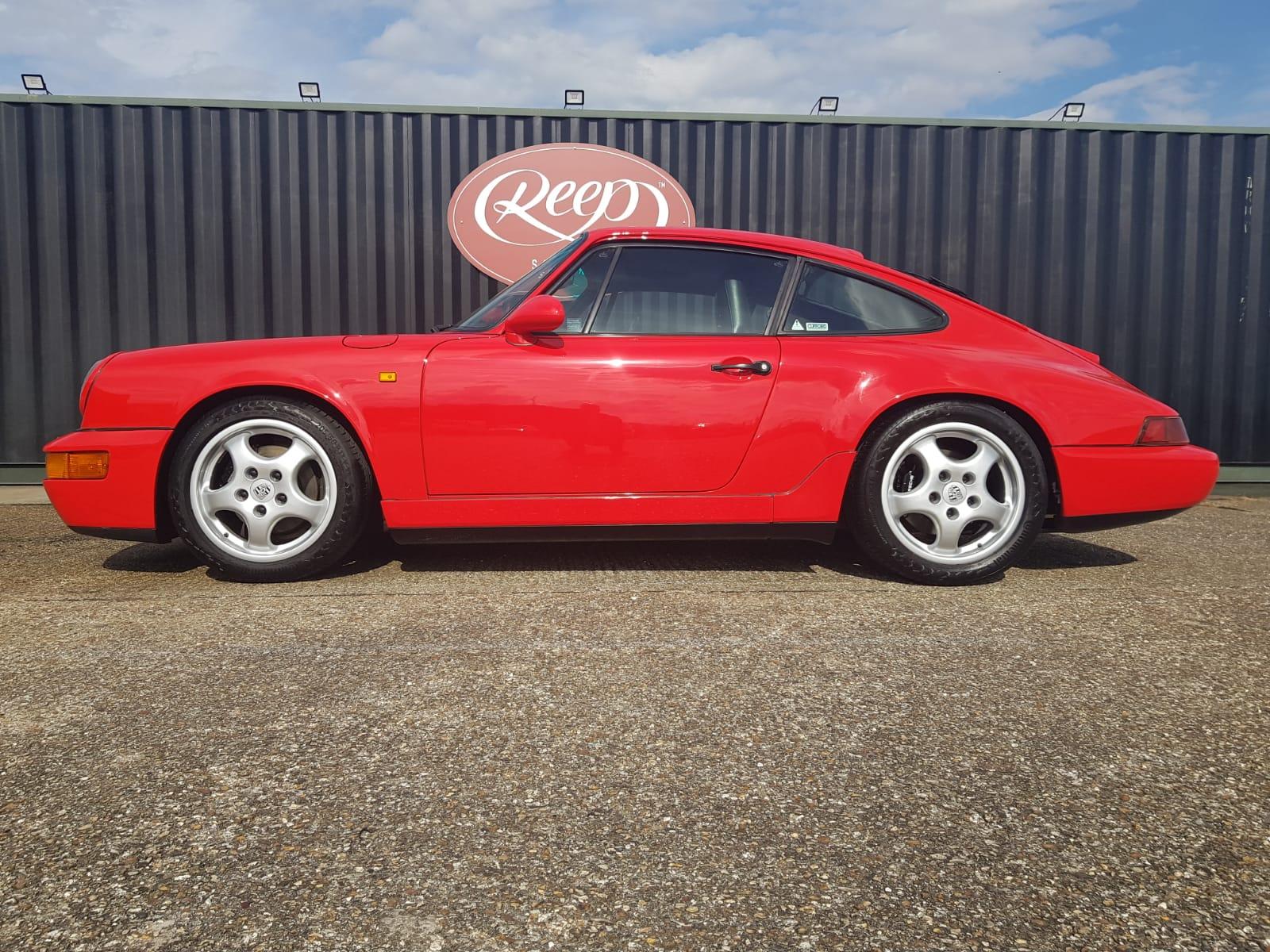 Porsche 964 Paint Restoration