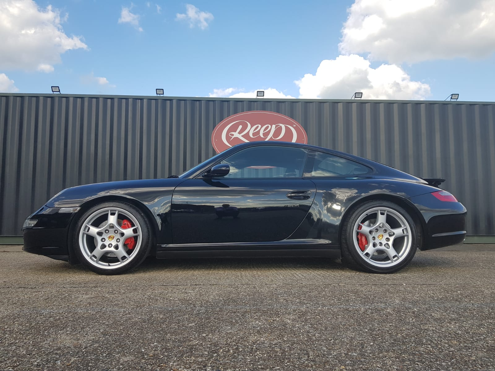 Porsche Carrera 4S Paint Re-Spray