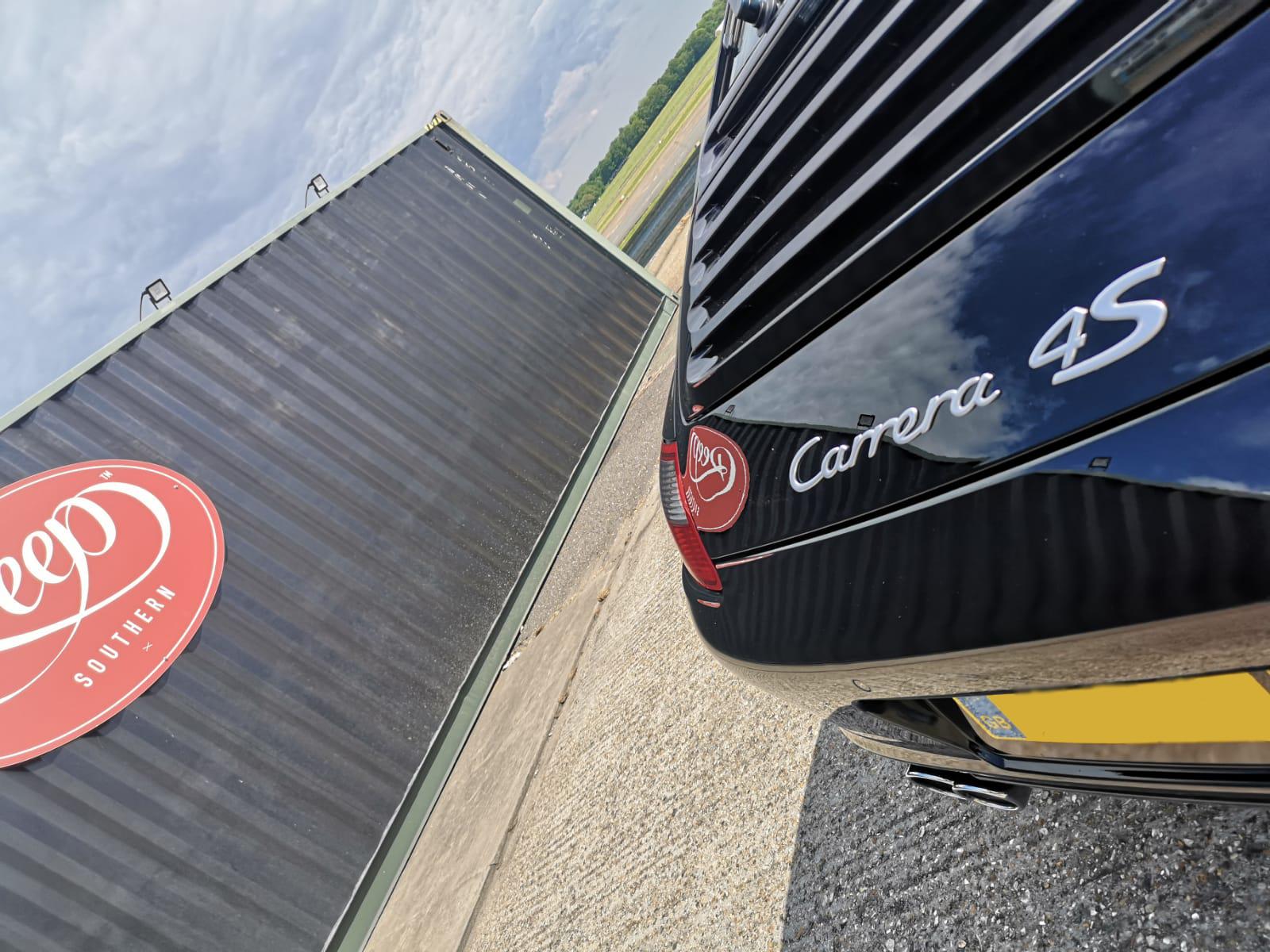 Porsche Carrera Detailing