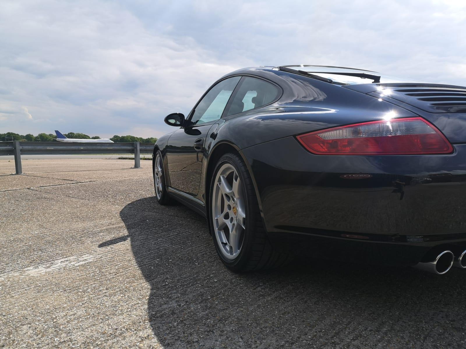 Porsche Carrera Paint Protection