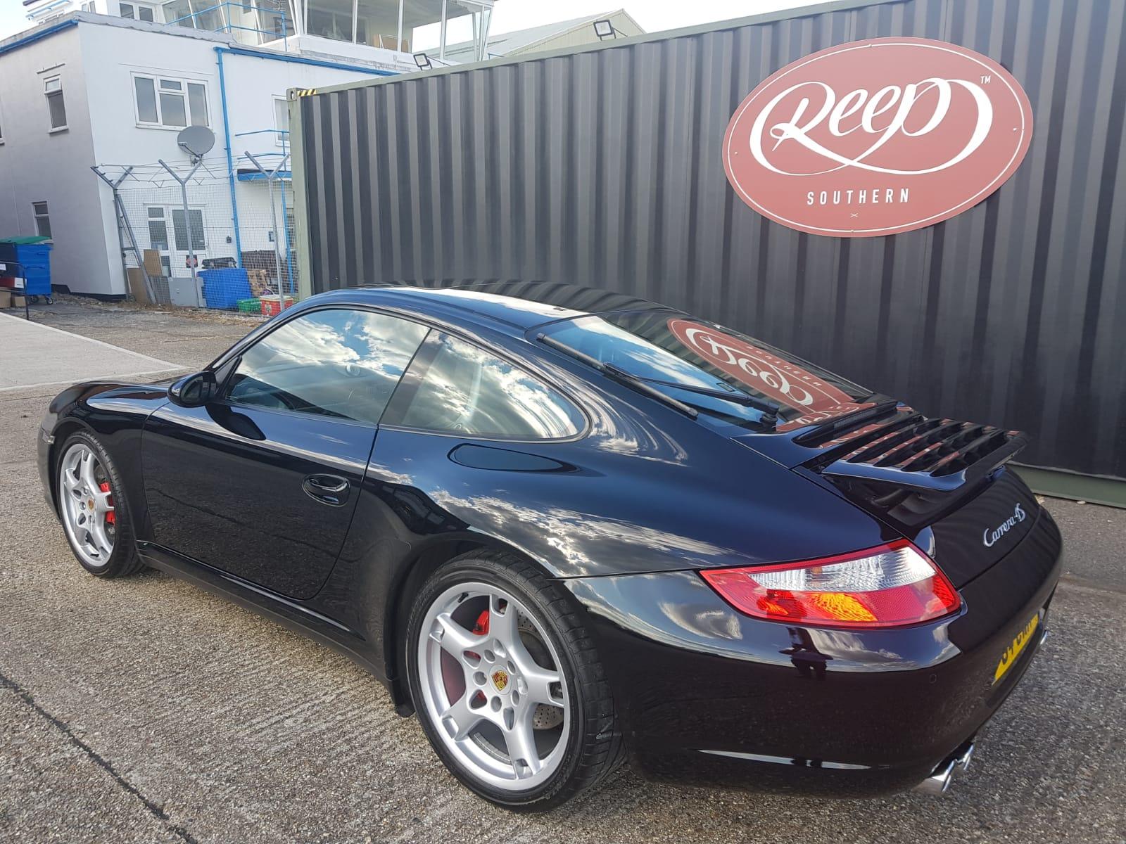 Porsche Carrera Paint Restoration