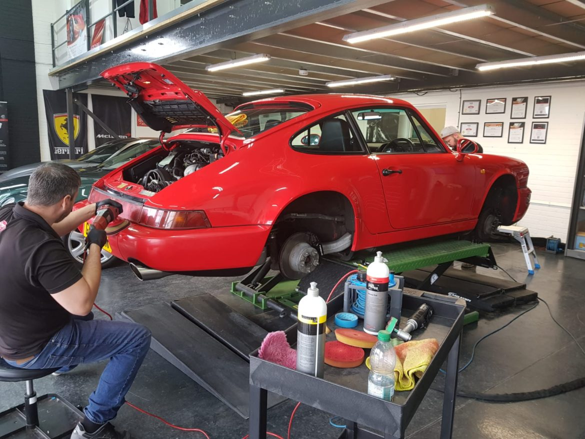 Porsche Paint Protection