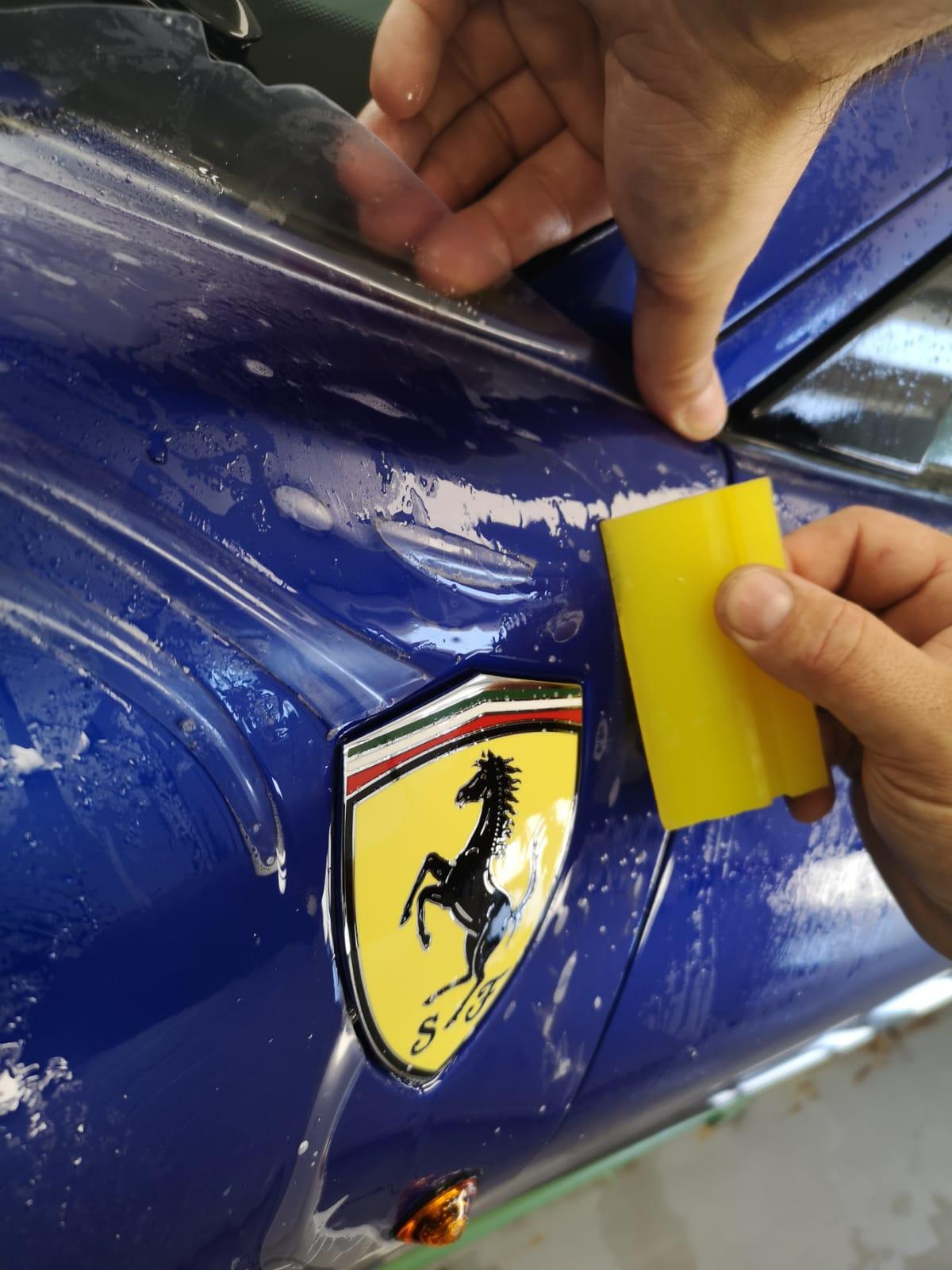 Ferrari 488 Pista Paint Protection Film
