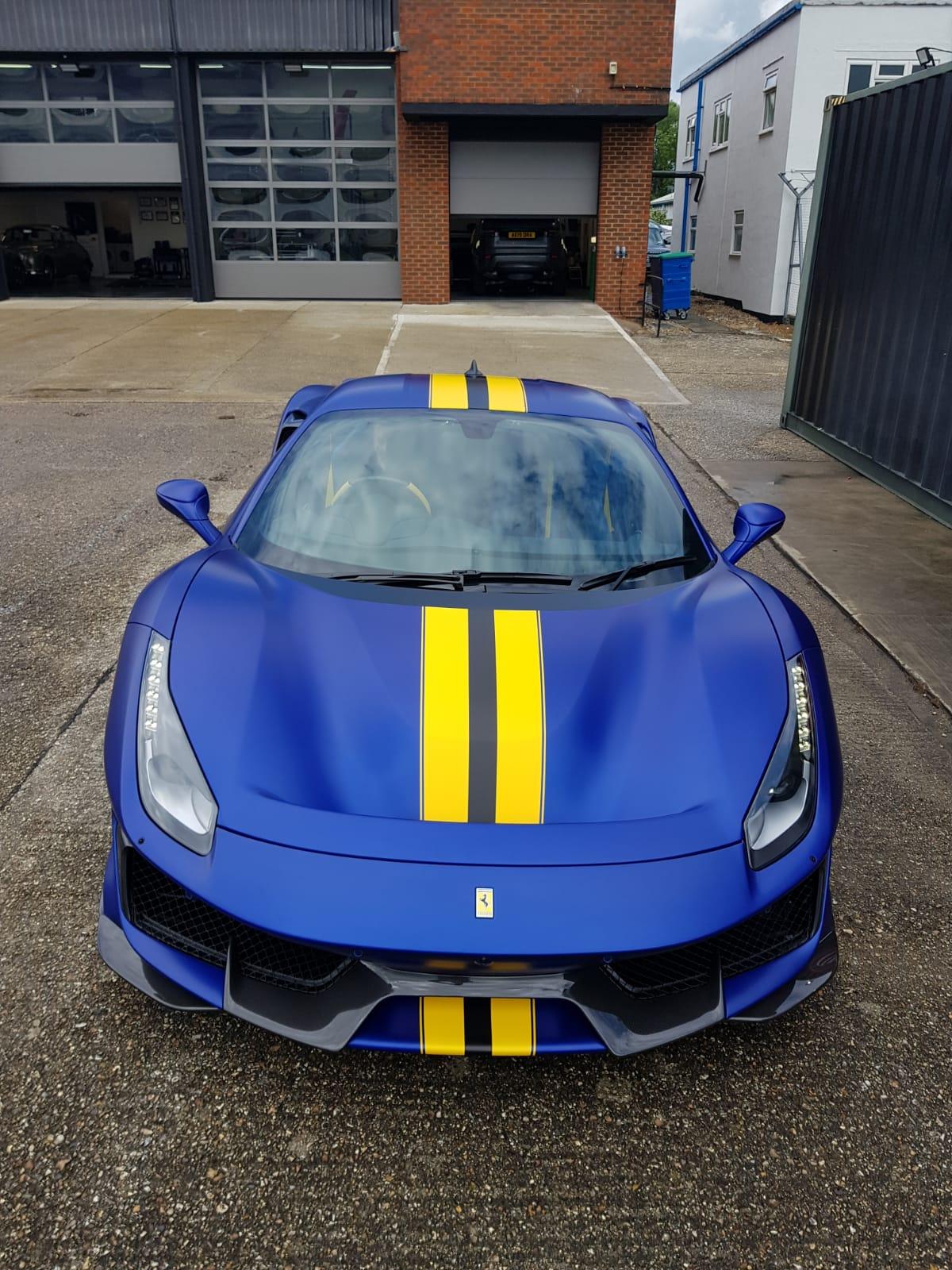 Ferrari 488 Pista PPF