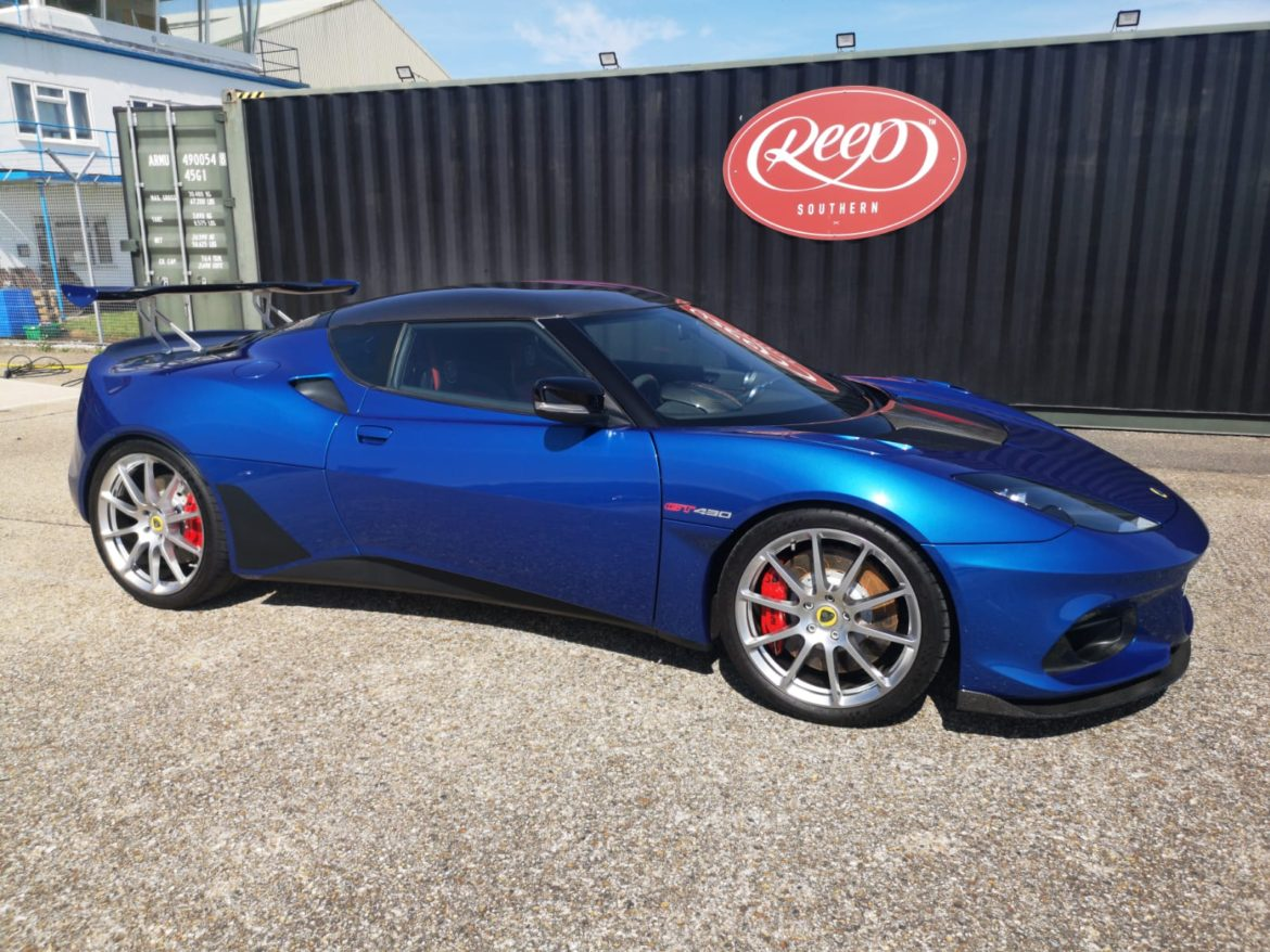 Lotus Evora GT430 Paint Protection Film