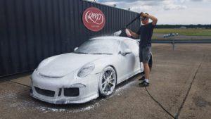 Porsche GT3 Snow Foam