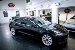 Tesla Model 3 Paint Protection Film