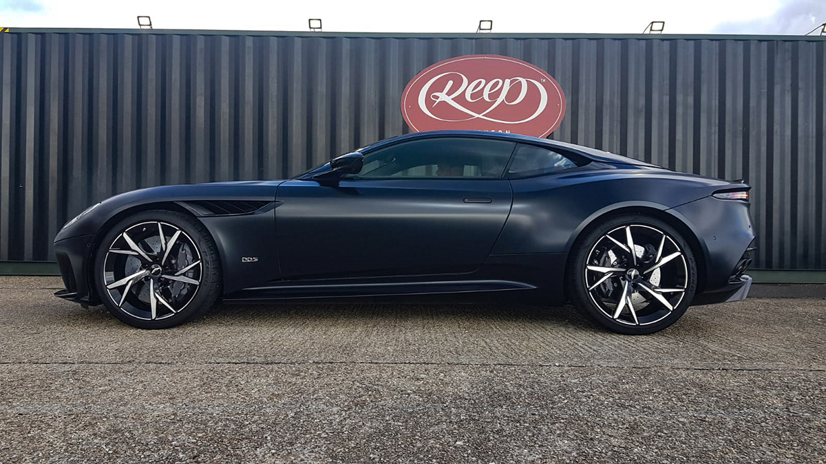 Aston Martin Dbs Superleggera Satin Black Paint Protection Reep Southern