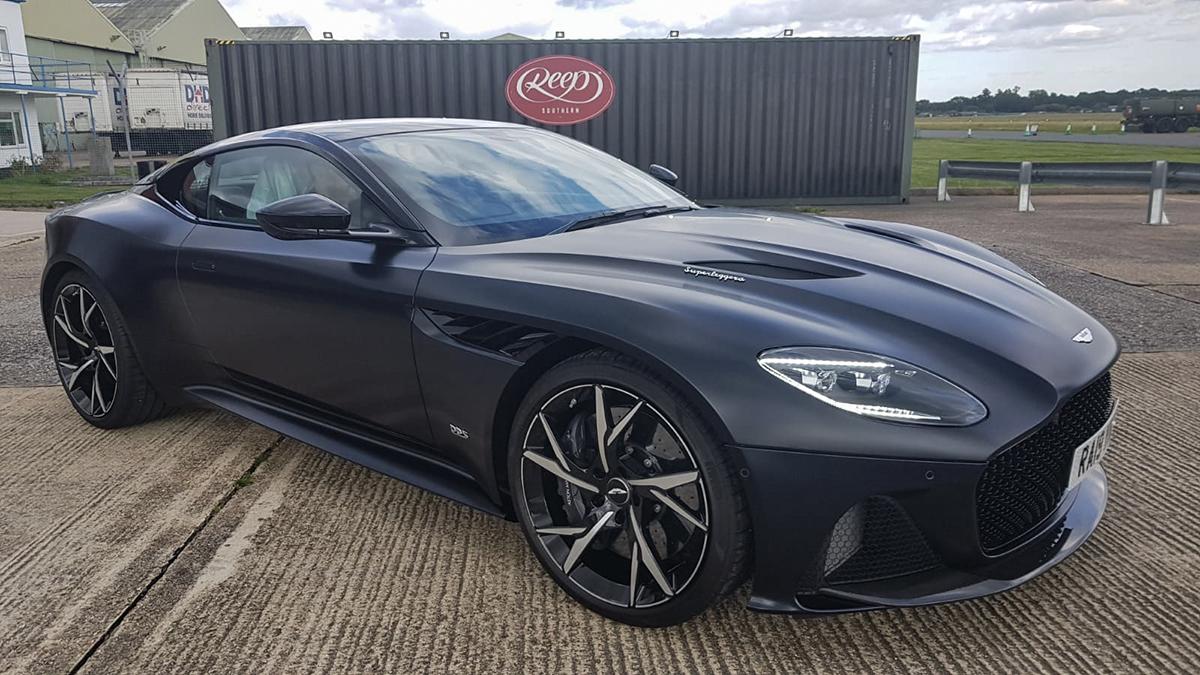 Aston Martin Matte Black Ppf Reep Southern