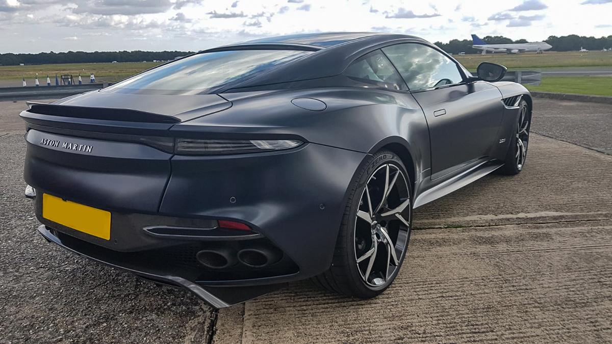 Aston Martin Paint Protection Film Matte Black Reep Southern