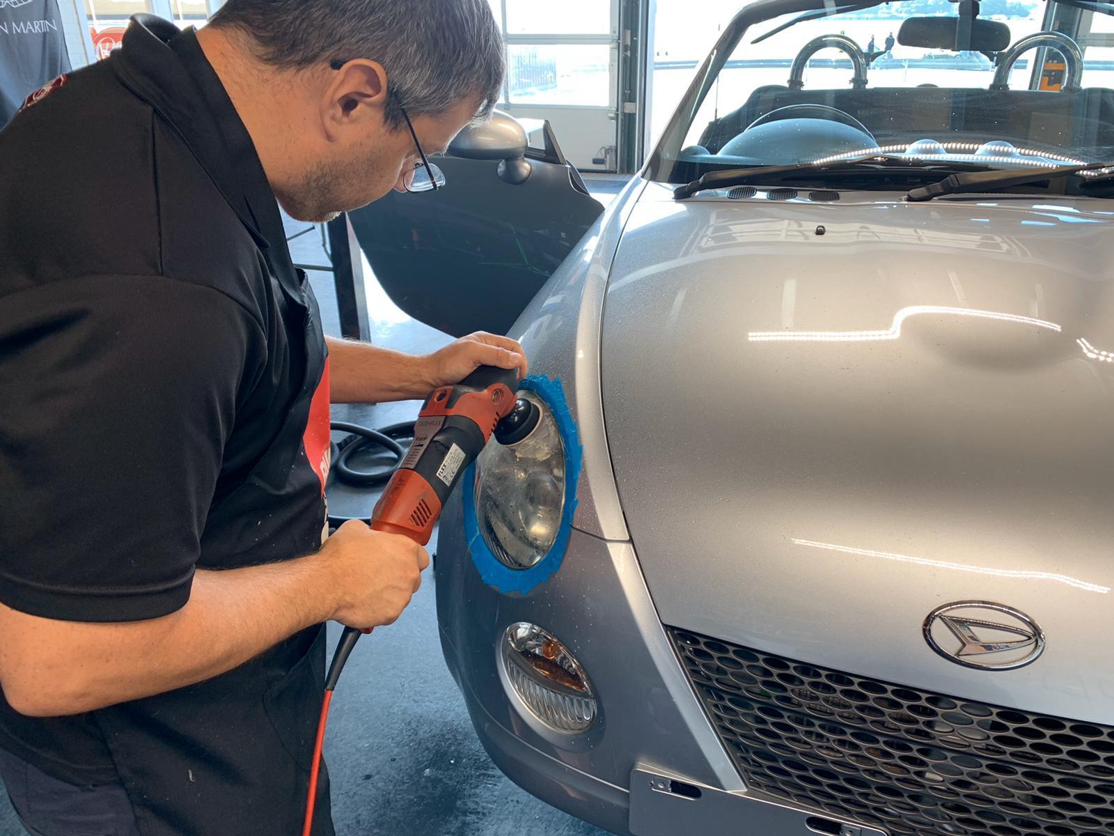 classic car machine polish