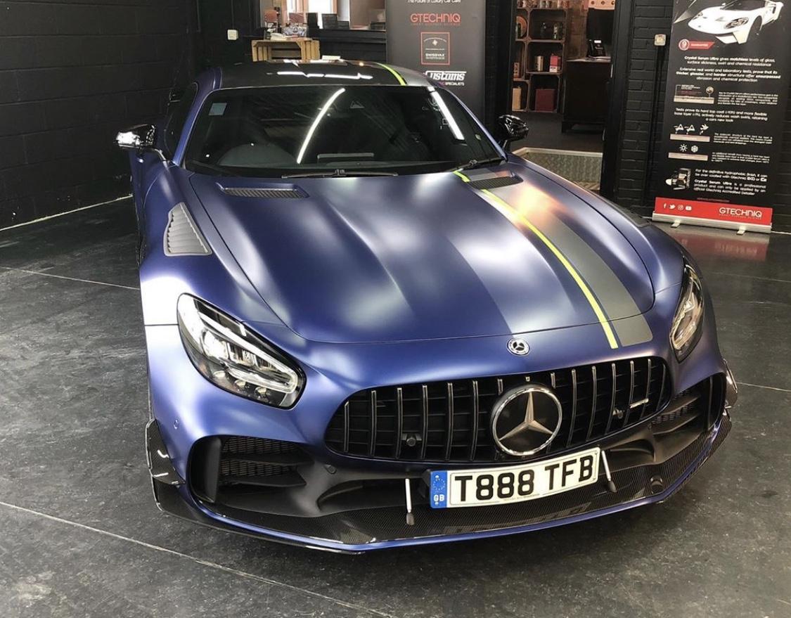 Matte Car Wrap AMG GT R PRO