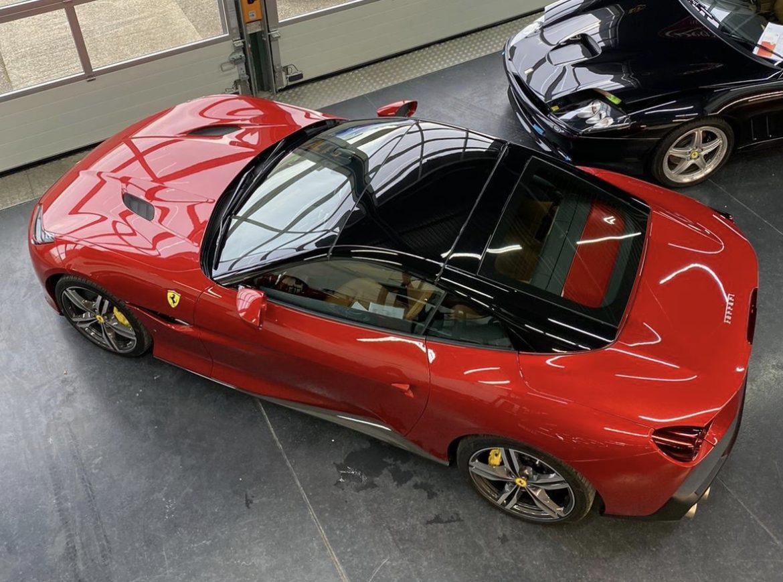 Ferrari Portifino with Gtechniq Coatings