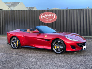 Ferrari-coated-with-Gtechniq-ceramic-coatings-300x225