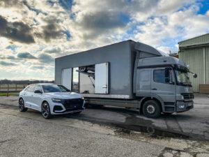 Audi RSQ8 Delivery
