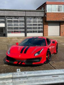 Ferrari-488-Pista-Front-End-Paint-Protection-Film-225x300